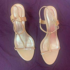 Jcrew thin straps heels